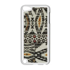 Fabric Textile Abstract Pattern Apple Ipod Touch 5 Case (white)