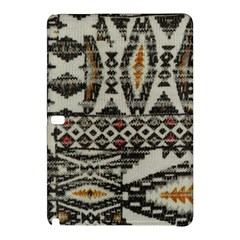 Fabric Textile Abstract Pattern Samsung Galaxy Tab Pro 12 2 Hardshell Case