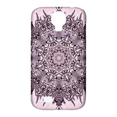 Mandala Pattern Fractal Samsung Galaxy S4 Classic Hardshell Case (pc+silicone)