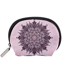 Mandala Pattern Fractal Accessory Pouches (small)