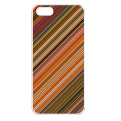 Background Texture Pattern Apple Iphone 5 Seamless Case (white)