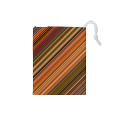 Background Texture Pattern Drawstring Pouches (small)