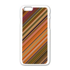 Background Texture Pattern Apple Iphone 6/6s White Enamel Case by Nexatart