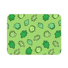 Funny Greens And Salad Double Sided Flano Blanket (mini)  by Mishacat