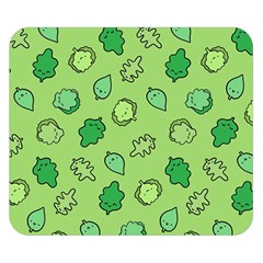 Funny Greens And Salad Double Sided Flano Blanket (small)  by Mishacat
