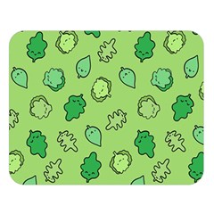 Funny Greens And Salad Double Sided Flano Blanket (large)  by Mishacat