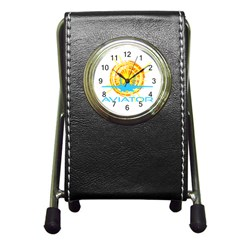Aviator Pen Holder Desk Clocks by FunnyCow