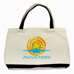 Aviator Basic Tote Bag by FunnyCow