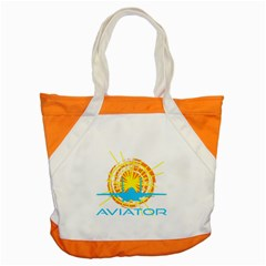 Aviator Accent Tote Bag by FunnyCow