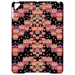 Fantasy Flower Ribbon And Happy Florals Festive Apple Ipad Pro 9 7   Hardshell Case by pepitasart