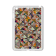 Patchwork Pattern Ipad Mini 2 Enamel Coated Cases by bywhacky