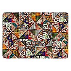 Patchwork Pattern Samsung Galaxy Tab 8 9  P7300 Flip Case by bywhacky