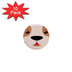 Dog Animal Boxer Family House Pet 1  Mini Buttons (10 Pack)