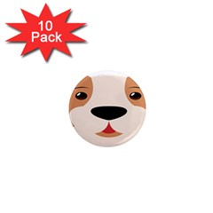 Dog Animal Boxer Family House Pet 1  Mini Magnet (10 Pack)