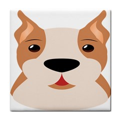 Dog Animal Boxer Family House Pet Face Towel