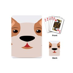 Dog Animal Boxer Family House Pet Playing Cards (mini)  by Sapixe
