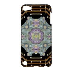 Butterflies And Flowers A In Romantic Universe Apple Ipod Touch 5 Hardshell Case by pepitasart