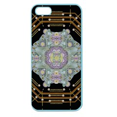 Butterflies And Flowers A In Romantic Universe Apple Seamless Iphone 5 Case (color) by pepitasart