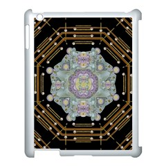 Butterflies And Flowers A In Romantic Universe Apple Ipad 3/4 Case (white) by pepitasart