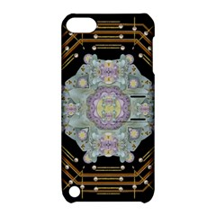 Butterflies And Flowers A In Romantic Universe Apple Ipod Touch 5 Hardshell Case With Stand by pepitasart