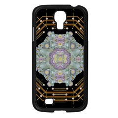 Butterflies And Flowers A In Romantic Universe Samsung Galaxy S4 I9500/ I9505 Case (black) by pepitasart