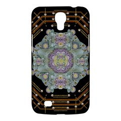 Butterflies And Flowers A In Romantic Universe Samsung Galaxy Mega 6 3  I9200 Hardshell Case by pepitasart