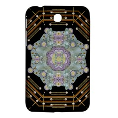 Butterflies And Flowers A In Romantic Universe Samsung Galaxy Tab 3 (7 ) P3200 Hardshell Case  by pepitasart