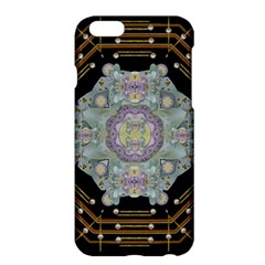 Butterflies And Flowers A In Romantic Universe Apple Iphone 6 Plus/6s Plus Hardshell Case by pepitasart