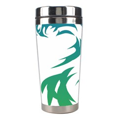 Wolf Dog Fox Animal Pet Vector Stainless Steel Travel Tumblers by Sapixe