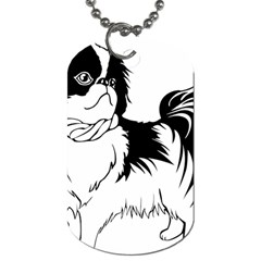 Animal Canine Dog Japanese Chin Dog Tag (one Side) by Sapixe