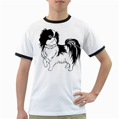 Animal Canine Dog Japanese Chin Ringer T-shirts by Sapixe