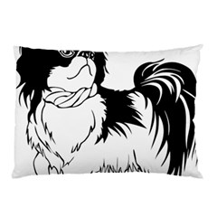 Animal Canine Dog Japanese Chin Pillow Case (two Sides) by Sapixe