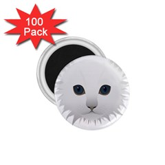 Cat Animal Pet Kitty Cats Kitten 1 75  Magnets (100 Pack)