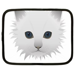 Cat Animal Pet Kitty Cats Kitten Netbook Case (large) by Sapixe