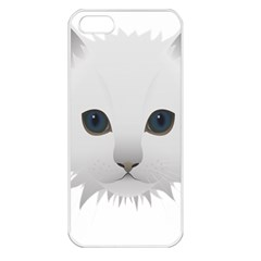 Cat Animal Pet Kitty Cats Kitten Apple Iphone 5 Seamless Case (white) by Sapixe