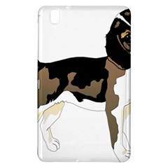 Black White Dog Beagle Pet Animal Samsung Galaxy Tab Pro 8 4 Hardshell Case