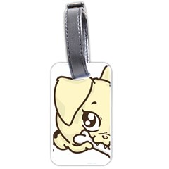 Doggy Dog Puppy Animal Pet Figure Luggage Tags (two Sides) by Sapixe