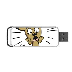 Animal Canine Cartoon Dog Pet Portable Usb Flash (one Side) by Sapixe