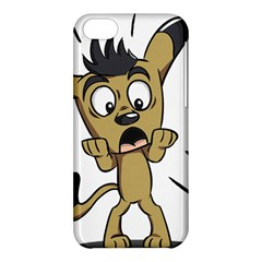 Animal Canine Cartoon Dog Pet Apple Iphone 5c Hardshell Case by Sapixe