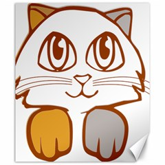 Animal Cat Feline Kitten Pet Canvas 20  X 24   by Sapixe