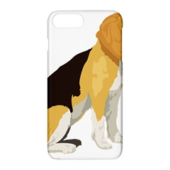 Black Yellow Dog Beagle Pet Apple Iphone 8 Plus Hardshell Case
