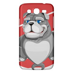 Bulldog Dog Animal Pet Heart Fur Samsung Galaxy Mega 5 8 I9152 Hardshell Case  by Sapixe