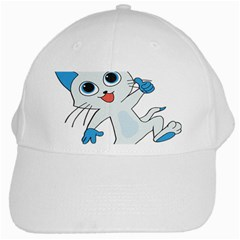 Animal Anthropomorphic White Cap by Sapixe
