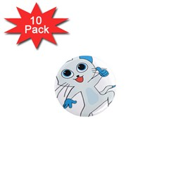 Animal Anthropomorphic 1  Mini Magnet (10 Pack)