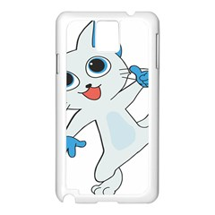 Animal Anthropomorphic Samsung Galaxy Note 3 N9005 Case (white) by Sapixe