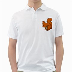 Squirrel Animal Pet Golf Shirts