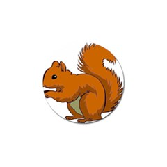 Squirrel Animal Pet Golf Ball Marker (10 Pack) by Sapixe