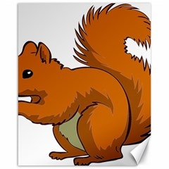 Squirrel Animal Pet Canvas 16  X 20   by Sapixe