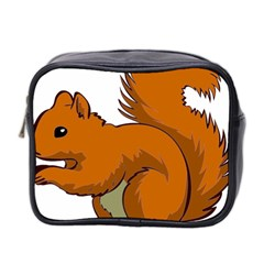 Squirrel Animal Pet Mini Toiletries Bag 2 Side by Sapixe