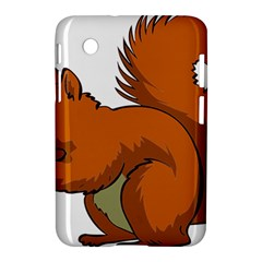 Squirrel Animal Pet Samsung Galaxy Tab 2 (7 ) P3100 Hardshell Case
